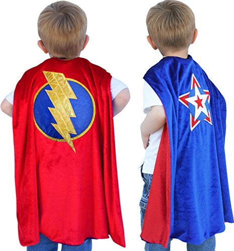 Little Pretends Reversible Superhero Cape -