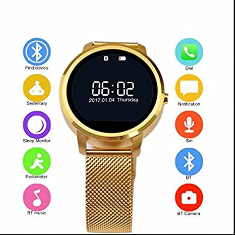 Lujo V360 Smart Watch, Bluetooth Smart reloj Watch, IP57 ...
