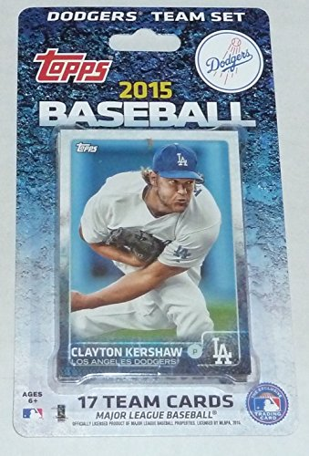 2015 Topps Los Angeles Dodgers Factory Sealed Special Edition 17 Card Team Set with Clayton Kershaw Yasiel Puig ()