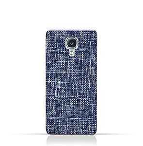 AMC Design Samsung Galaxy S4 TPU Silicone Case with Brushed Chambray Pattern
