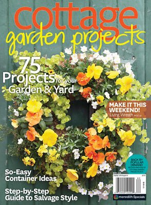 - Cottage Garden Projects Magazine 2018 Flea Market Style Container Gardening DIY