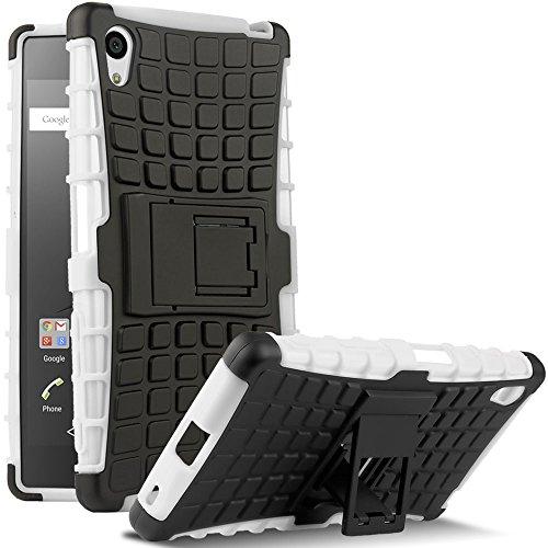 Sony Xperia Z5 Case, HHI Dual Armor Composite Case with Stand for Sony Xperia Z5 - (Hhi Armor Case)
