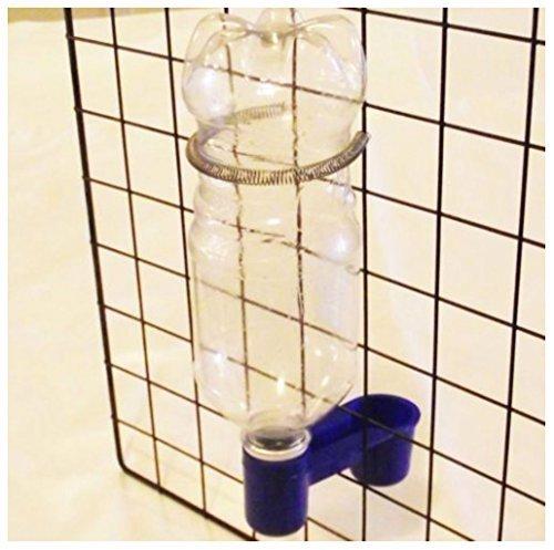 12 PK SODA POP WATER BOTTLE BIRD DRINKER CUP & SPRING QUAIL DOVE CHICKEN PIGEON