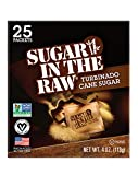 Sugar in the Raw Molasses, Turbinado cane sugar, 25 Count Packets (Pack of 12)