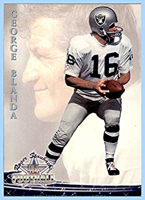 1994 Ted Williams #45 George Blanda OAKLAND RAIDERS KENTUCKY WILDCATS