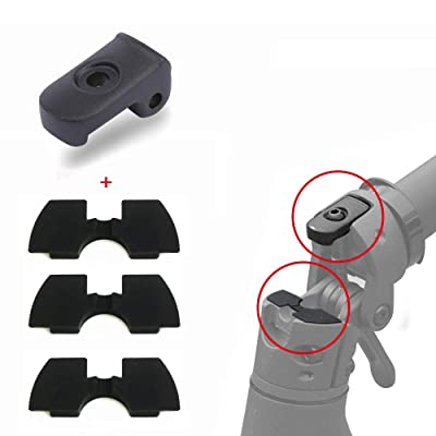 Yifant Folding Buckle and Rubber Vibration Dampers Set for Xiaomi Mijia M365 / M365 Pro Electric Scooter Accessories Replacement Parts : Sports & Outdoors