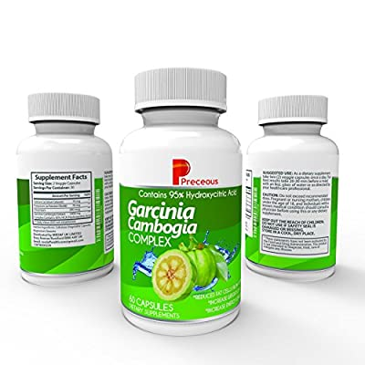100% Pure Garcinia Cambogia Extract High HCA 1400mg Per Serving Highest Grade Weight Loss Supplement Natural Weight Loss Pills And Appetite Suppressant Lab Tested And Verified