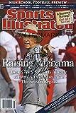 Nick Saban Sports Illustrated Autograph Poster - Raising Alabama