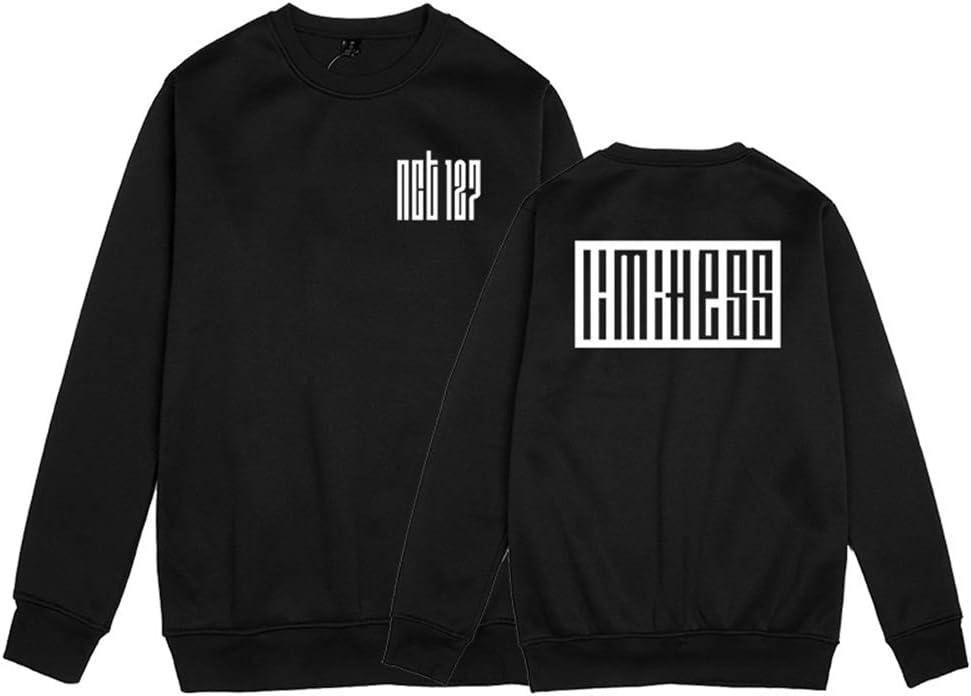 Fittrame NCT 127 Merchandise Pullover Kpop Sweatshirt Long Sleeve