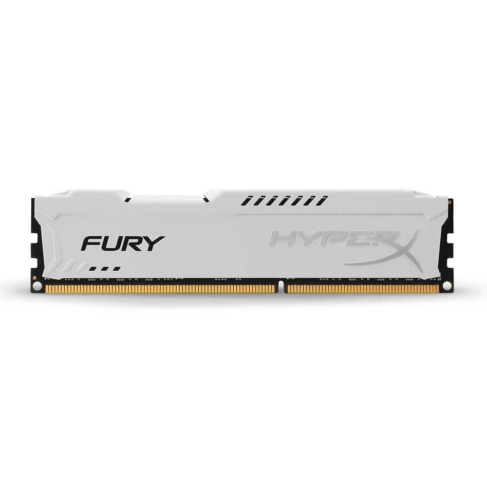 Memoria RAM 8GB Kingston HyperX FURY 1600MHz DDR3 CL10 DIMM - White (HX316C10FW/8)