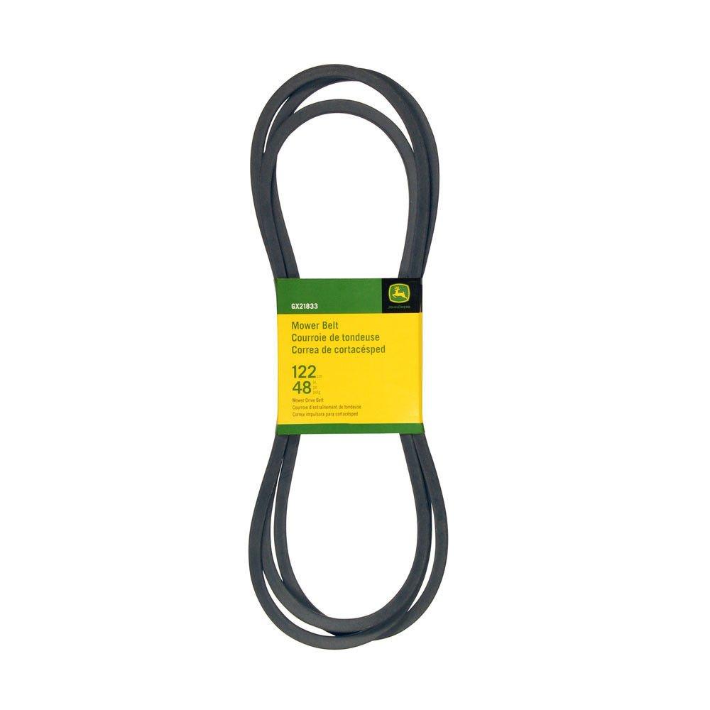 Amazon.com : John Deere GX21833 Deck Drive Belt Fits 145 155C D140 D150 D160 L120 L130 LA130 LA140 LA145 LA155 LA165 X140 X165 : Garden & Outdoor