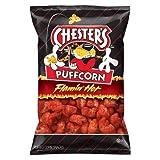 Chester's Puffcorn Flamin' Hot Puffed Corn Snacks 4.5 oz