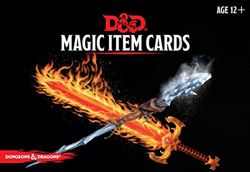 Book cover from Dungeons & Dragons Spellbook Cards: Magic Items (D&D Accessory) by Wizards RPG Team