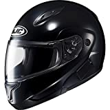 HJC Solid Mens CL-MAX II Bluetooth Sports Bike Motorcycle Helmet - Black / 2X-Large