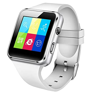 GBVFCDRT Bluetooth Smart Watch Smartwatch Android Llamada de ...