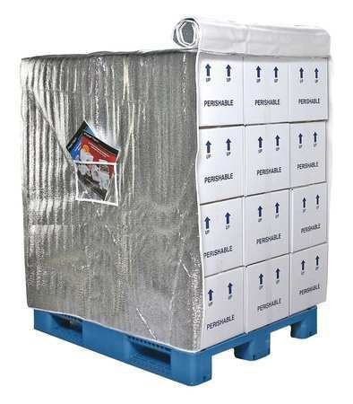 Pallet Cover, Insulated, 48 In D x 40 In ()