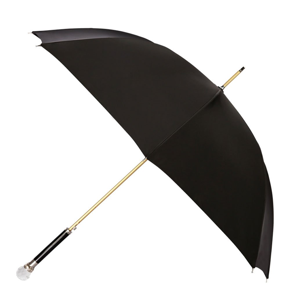Upscale Men Umbrella Long Umbrella Commerce Straight Rod Lion Head Creativity Men and Women Umbrella (Color : D)