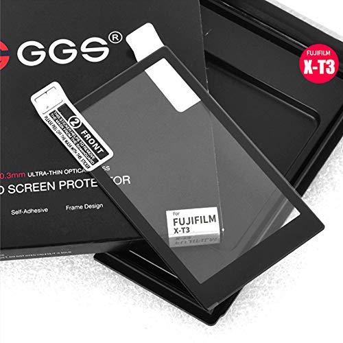 GGS Protector de Pantalla LCD Pro Glass para Fujifilm X-T3