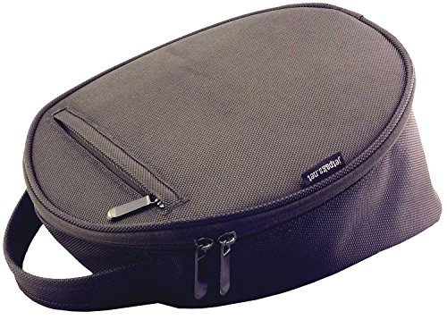 (JetPaks.net HatPak Uniform Hat and Cap Travel Carrying Case - Large - Black)