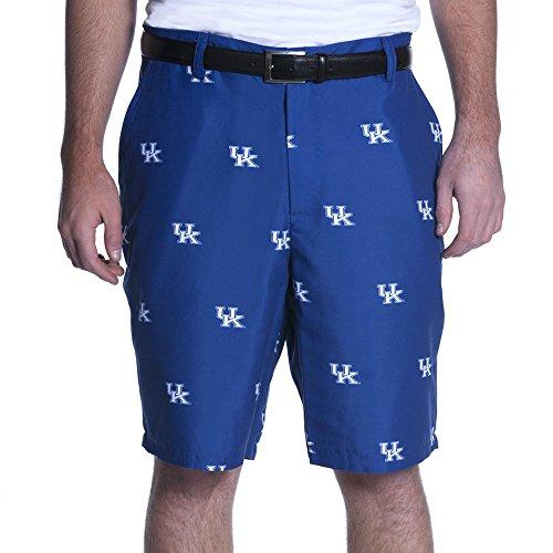 NCAA Adult Men's Game Changer Shorts, Kentucky Wildcats, 40, Blue (Shorts Wild Golf)