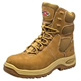 Iron Age Men's Heated 8″ Waterproof Insulated Sport Boot,Wheat Nubuck,US 7 W