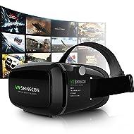 3D VR Réalité Virtuelle Universelle Lunettes Casque De Lentille Réglable Vidéo Jeu Mobile Phone Casque,Appliquée à iPhone 6S/6 Plus/6/5S/5 C/5, Samsung Galaxy S5/S6/Note4/note5 S6,Les Autres 3.5-6.0 pouce Smartphone V01