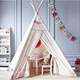 Fessyc@Indian children tent house play small game toy house exclusive new house anti-mosquito parent-child interaction teepee