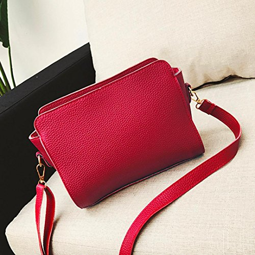 Deals Leather Bag Crossbody TOOPOOT Crossbody Tassel Clearance Bag Bag Women Lady Red Bag Elegant Phone Shoulder dRBHUT4