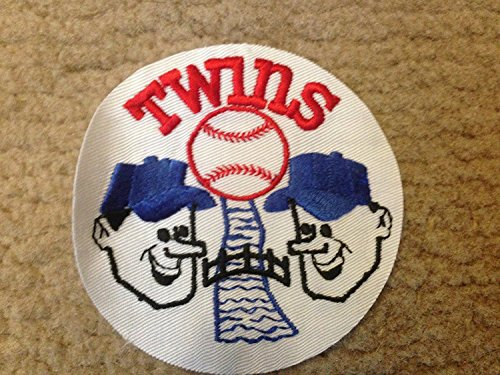 1970 VINTAGE MINNESOTA TWINS RAW IRON ON PATCH 4
