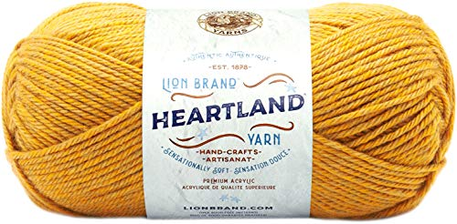 Lion Brand Yarn 136-158 Heartland Yarn, Yellowstone