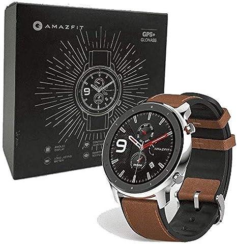 Xiaomi AMAZFIT GTR Reloj SMARTWATCH 47.2MM Aluminum Alloy: Amazon ...