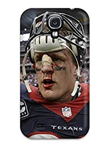 linJUN FENGGalaxy S4 Case Bumper Tpu Skin Cover For Houston Texans Accessories