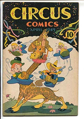 - Circus #1 1945-1st issue-WWII era issue-Roly Poly-funny animals-FN-