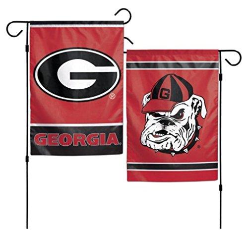 Bulldogs Ncaa University Georgia (NCAA Georgia Bulldogs 12 x 18 inch 2-Sided Garden Flag)