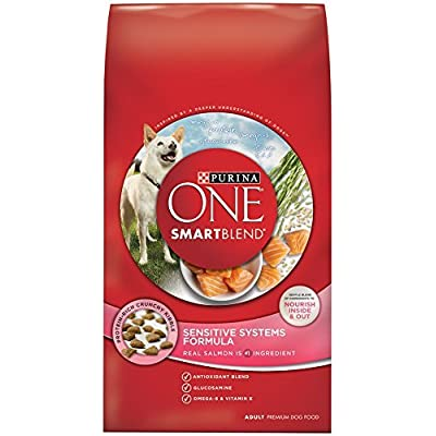 Purina ONE SmartBlend Dry Dog Food, Sensitive Systems Formula, 31.1-Pound Bag by Purina ONE