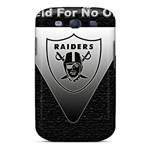 Fashionable Style Cases Covers Skin For Galaxy S3- Oakland Raiders