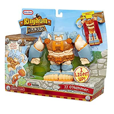 Little Tikes Kingdom Builders - JJ O'hammer Deluxe Transforming Figure: Toys & Games