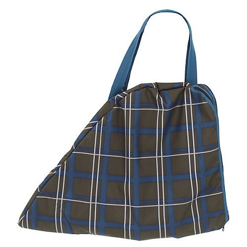 Centaur Saddle Bag Blue Corn Plaid