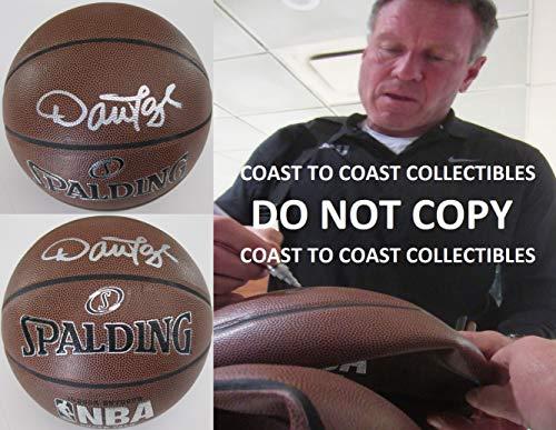 Dan Majerle, Phoenix Suns, Miami Heat, Signed, Autographed, NBA Basketball, Coa with the proof photo will be - Spalding Heat Miami