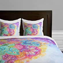 Deny Designs  Stephanie Corfee Flourish Duvet Cover, Queen