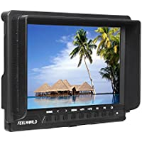 FEELWORLD FW760 Full HD 1920x1200 7 inch IPS Support 1080P 4K HDMI Camera Monitor With Focus Assist Histogram Zebra Exposure
