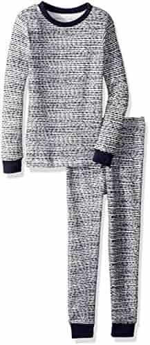 Burt's Bees Baby Unisex Pajamas, 2-Piece PJ Set, 100% Organic Cotton (12 Mo-7 Yrs),