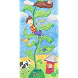 Oopsy Daisy Canvas Wall Art Jack and The Beanstalk by Stephanie Bauer, 12 by 24-Inch