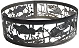 Twowings Fire Pit Ring, 36x 36 x 15 inch
