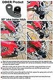 ODIER Bike Trailer Coupler 12.2MM Steel Hitch for