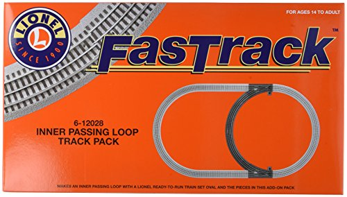 Lionel FasTrack Electric O Gauge, Inner Passing