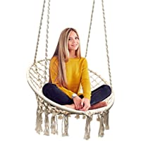 Sorbus Hammock Chair Macrame Swing for Indoor/Outdoor Home