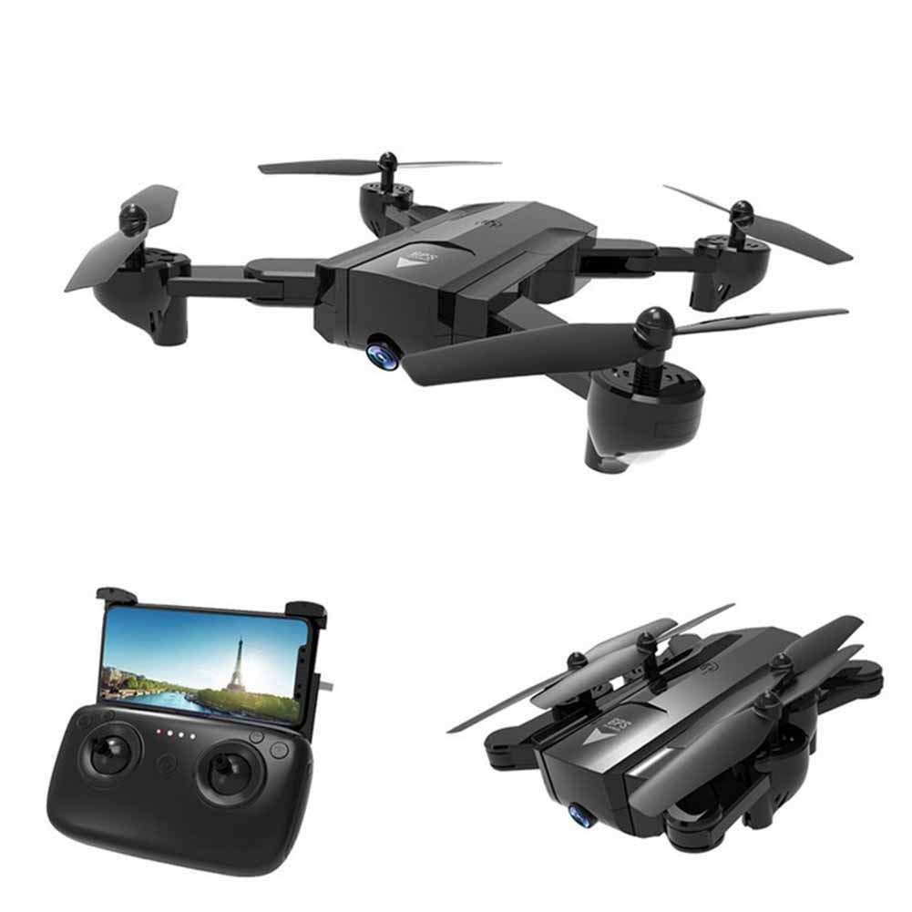 YUN Drone@ Drohne mit Kamera, RC Quadrocopter Faltbare Drohne mit WiFi FPV 1080P HD-Kamera Live-Video für Einsteiger und Kinder - Höhenlage, One Key Start, One Key Return, 3D-Flips