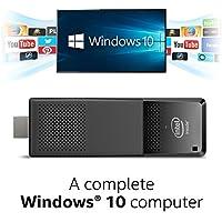 Intel Compute Stick CS125 Computer with Intel Atom x5 processor and Windows 10 (BOXSTK1AW32SCR)