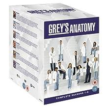 Greys Anatomy - Seasons 1-6